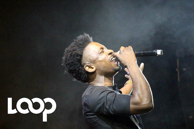 Christopher Martin performs at Trench Town Rock on Saturday