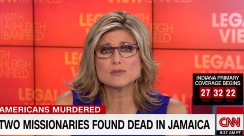 "CNN'S ASHLEIGH BANFIELD COMES UNDER FIRE FOR SAYING JAMAICA IS AN ""EXTRAORDINARILY VIOLENT PLACE!"""