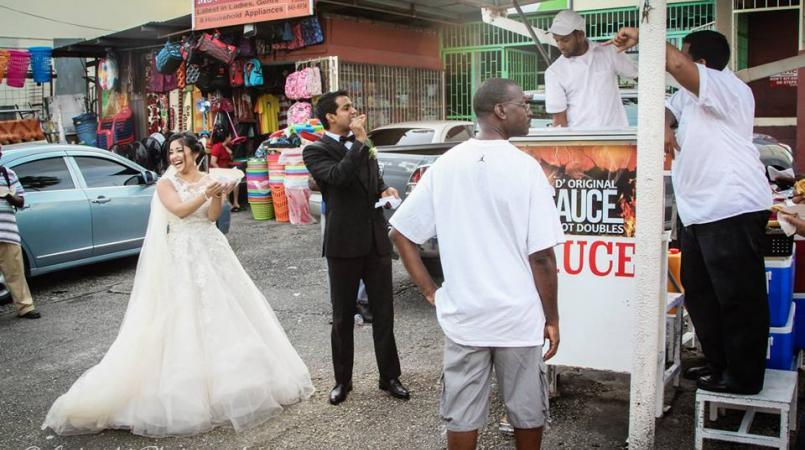 content news local newlyweds wedding video going viral