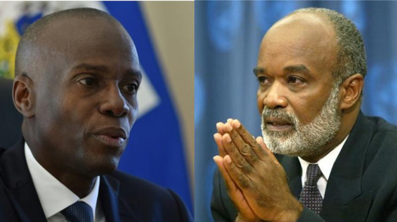 François Hollande rend hommage à l'ancien président d'Haïti