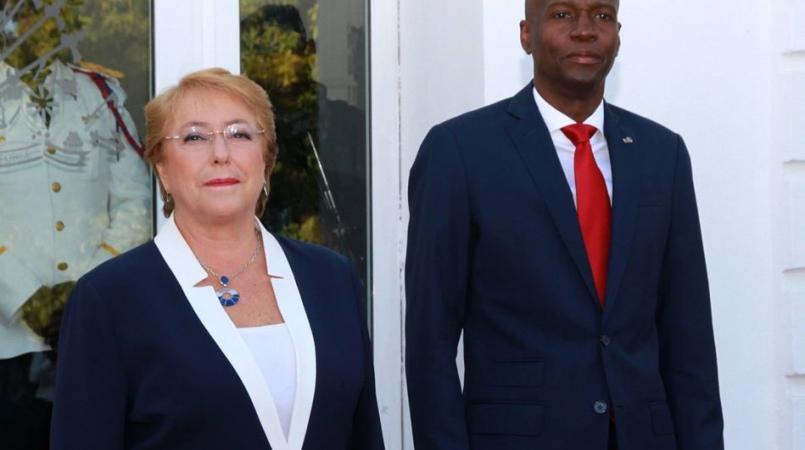 Michelle Bachelet sera dans nos murs ce 27 mars — Haïti-Coopération