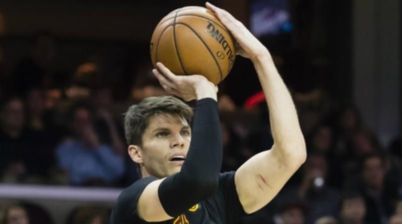 Korver best helps Cavaliers end Pacers´ winning streak