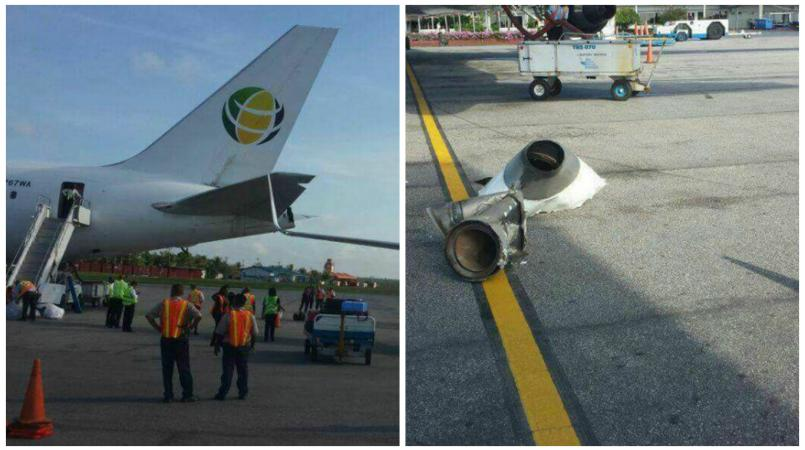 Fly Jamaica, CAL planes collide at Guyana airport
