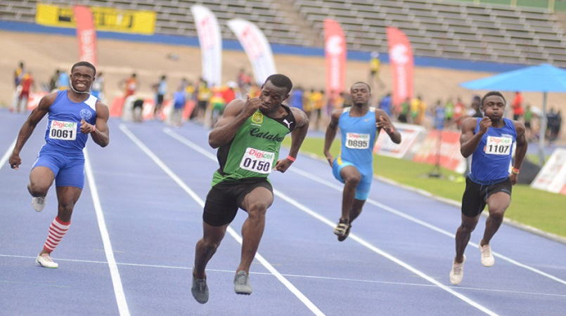Two records in digicel grand prix 100 metres loop news jamaica