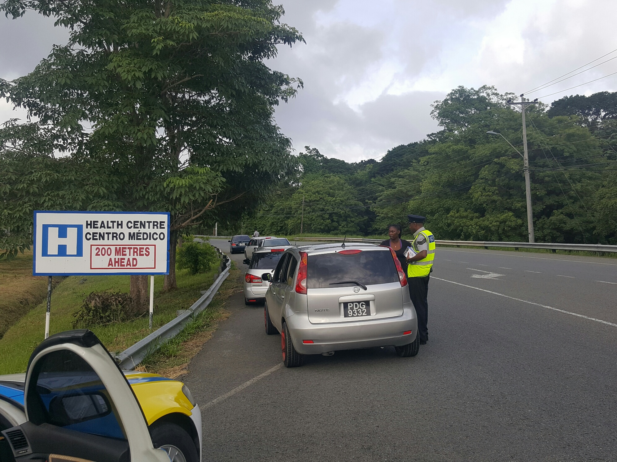 Image result for traffic and highway patrol branch trinidad