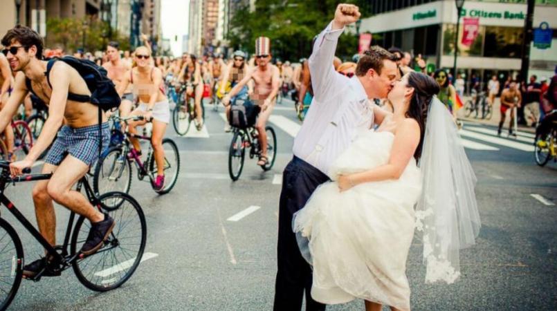 Nude Bicyclist 20